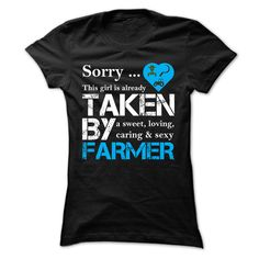Farmers Girl T-Shirts, Hoodies. CHECK PRICE ==► https://www.sunfrog.com/LifeStyle/Farmers-Girl-69789616-Ladies.html?id=41382