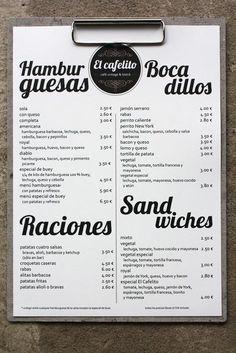 diseño de imagen corporativa logotipo, carta, para un restaurante y café bistró vintage en Hinojedo Cantabria