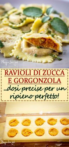Spinach And Ricotta Ravioli, Vegan Ravioli, Toasted Ravioli, Ravioli Recipe, Ravioli Lasagna Bake, Chicken Ravioli, Crab Ravioli, Italian Pasta Recipes, Mexican Recipes