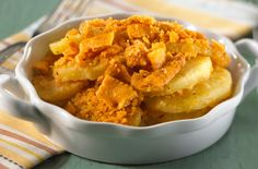 Crispy Topped Scalloped Potatoes | Snackpicks - Ideas to Snack On 360 cals