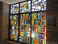 cool stained glass bookshelves