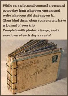 Add these tips to your good to know list (15 photos).... Send yourself a post card