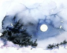 'Full Moon' by David Tripp