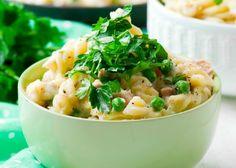 Creamy Tuna Pasta Recipe With Mushrooms And Cream Cheese Baked Pasta Recipes, Pasta Dinner Recipes, Tuna Recipes, Noodle Recipes, Rice Recipes, Cooking Recipes, Pot Pasta, Pasta Dishes, Pasta Bake