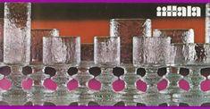 GLASS FRA IITTALA – DEL 2 – WIRKKALA VERSUS SARPANEVA – Mats Linder Vintage Advertisements, Glass, Advertising, Design, Drinkware, Corning Glass, Vintage Ads