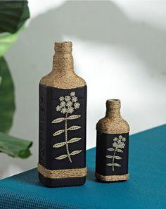 Recycled Bottle Art