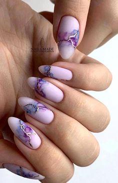 Pretty Nail Art, Cute Nail Art, How To Nail Art, Best Acrylic Nails, Acrylic Nail Designs, Short Almond Nails, Short Nails, Almond Nail Art, Fall Almond Nails