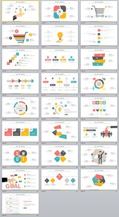 25+ multicolor swot infographics charts PowerPoint Template