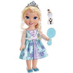 "Disney Frozen Toddler Doll - Elsa - Tolly Tots - Toys ""R"" Us"