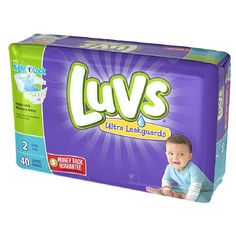 Buy Luvs with Ultra Leakguards Diapers, Size 2 - 40 Ea/ 2 Pack   NightLock - Largest Absorbency Area Ever Helps Lock Away Wetness, Even Overnight. myotcstore.com - Ezy Shopping, Low Prices & Fast Shipping.
