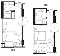 Hotel Room Floor Plans   ... in Las Vegas, NV - Best Las Vegas Hotel Room Deals - Treasure Island