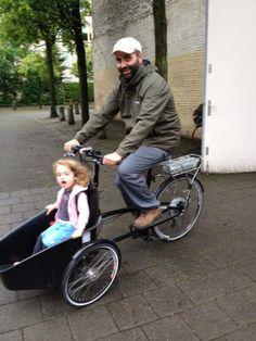 Kids love cargobikes!