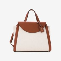 Kate Spade Saturday Satchel in Canvas and Leather