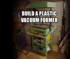 I finally built my vacuum former after looking at builds and collecting parts for years.If I ever build another one, this outlines everything I need and the tricks...
