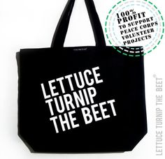 Hey, I found this really awesome Etsy listing at https://www.etsy.com/listing/173176840/lettuce-turnip-the-beet-black-canvas