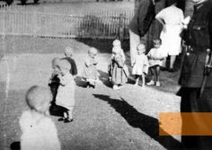 Croatia, 1942, Arrival of the first child prisoners, captured by the fascists, at the Sisak camp on August 3, JUSP Jasenovac,    1100 of them died there, of starvation, disease, hypothermia and neglect.
