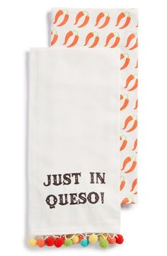 Levtex 'Just in Queso' Dish Towel