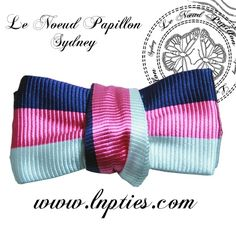 Awesome colored bow tie! Want!