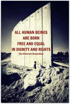 REMEMBER: Universal Declaration of Human Rights includes #Palestine