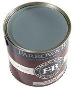 Farrow & Ball - Stiffkey Blue 281 - Interior Wood Primer & Undercoat L - Paint Farrow Ball, Dining Room Colour Schemes, Dining Room Colors, Distemper Paint, Farrow And Ball Inchyra Blue, Hall Painting, Oval Room Blue, Stiffkey Blue, Eggshell Paint