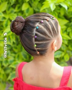 Girls Hairdos, Cute Girls Hairstyles, School Hairstyles, Wedding Hairstyles, Everyday Hairstyles, Toddler Hairstyles, Black Girl Short Hairstyles, Short Haircuts, Gymnastics Hair