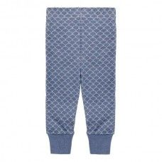 $19.95 Baby Pants Blue Fish Scale