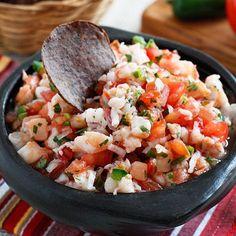 Skinny Shrimp Salsa Made by @skinnytaste . Follow her for more @ ...