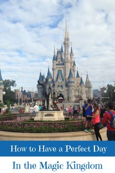 A Perfect Travel Itinerary for the Magic Kingdom at Disney World