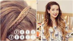 How To: Halo Braid | Zoella