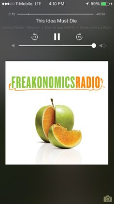 Freakonomics makes my heart sing! Always question conventional wisdom and find a way to pick apart anything that seems to easy or automatic. This is especially true in fitness! Nothing is automatic! take RTS!!