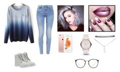 Ombré by fashionbyaaliya on Polyvore featuring polyvore, fashion, style, G-Star, Timberland, Wet Seal, Marc by Marc Jacobs and Linda Farrow