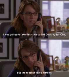 When she was faced with the absurdity of life. | 24 Times Liz Lemon Was A True Role Model