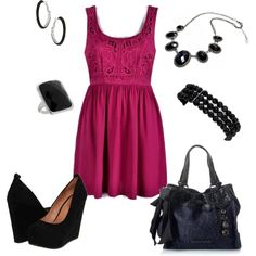 Lovely lace top dress,cute outfit