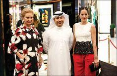 Carolina Herrera & Carolina Herrera de Baez Tour Paris Gallery at The Dubai Mall : Read more http://www.godubai.com/citylife/press_release_page.asp?PR=99099&SID=1,52,18,19&Sname=Fashion%20and%20Lifestyle