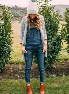 Layered | Cute Ways To Wear Denim Overalls For Women Inspired By The 90s