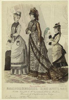 Magasin des demoiselles ; 51, Rue Laffitte, Paris ; 25 Octobre 1875.