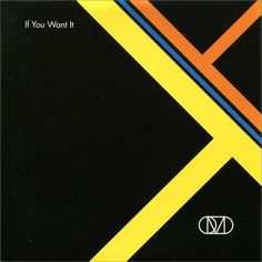 "Album cover by the English graphic designer Peter Saville ""OMD: If You Want It"" #petersaville #graphicdesign #albumcover"