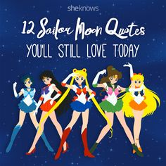 Sailor Moon quotes that will make you fall in love with it again: Sailor Moon pin