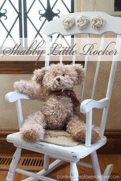 Shabby Little Rocking Chair