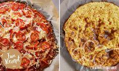Low-Carb Magerquark-Pizza