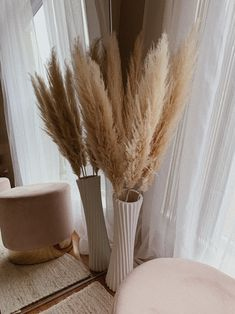 Hand-Picked + Packaged in SoCal by House of Pampas ☀️ by HouseofPampas Room Ideas Bedroom, Home Decor Bedroom, Living Room Decor, Grass Decor, Aesthetic Room Decor, Beige Aesthetic, Aesthetic Art, Home Interior Design, House Design
