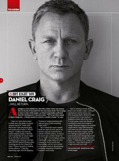 """katekier: """"Daniel Craig will be featured in next months Total Film magazine ❤️ """" Daniel Craig Bond, Daniel Craig James Bond, Daniel Craig Style, Daniel Graig, Mcqueen, Good Morning Gorgeous, Best Bond, David Fincher, Z Cam"""