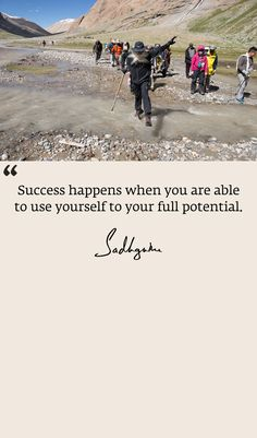 Sucess happens when you are able to use yourself to your full potential. Work Quotes, Great Quotes, Life Quotes, Ted Quotes, Success Quotes, Inspirational Articles, Inspiring Quotes About Life, Buddhist Quotes, Spiritual Quotes