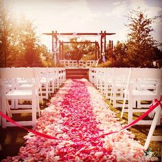 Throwback to a 2011 where we helped place over to create this very long aisle. So honored to have played a… Outdoor Ceremony, Rose Petals, Preserve, Botanical Gardens, Boho Wedding, Special Day, Las Vegas, Reception, Table Decorations