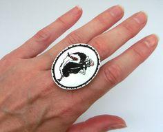 "ring ""cancan"" of Atelier Spunk at DaWanda.com"