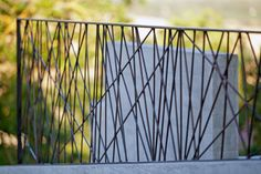 The Black House - Amalia Siciliani Outdoor Handrail, Modern Stair Railing, Modern Stairs, Railing Design, Deck Railings, Railing Ideas, Steel Balustrade, Balustrades, Metal Gates