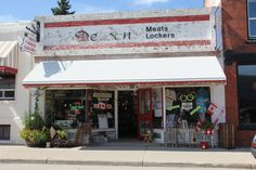 Nanton, Alberta is packed full of great Antique shops. So much fun close to Calgary and other great small towns, for shopping. Antique Shops, Calgary, Small Towns, Lockers, Iron, Antiques, Outdoor Decor, Travel, Shopping
