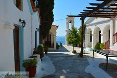 Samos - Pythagorion - from the Monastery  Panagia Spiliani
