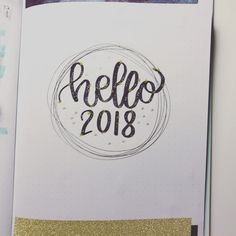Bullet journal yearly cover page, star drawings. @julia_frax