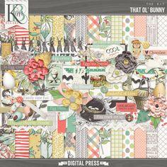 Digital Kit. That Ol' Bunny from KimB